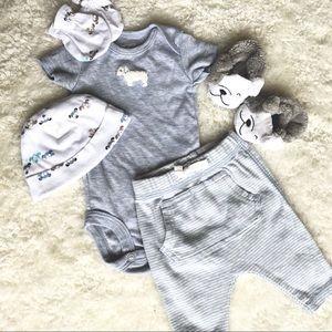 Puppy Outfit Bundle Newborn Infant NB